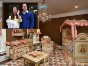 Làm mẹ - Báo Anh 'tiết lộ' phòng ngủ vương giả của Tiểu công chúa Kate-William