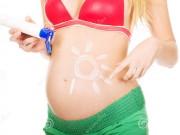 Bí quyết dùng kem chống nắng để không hại thai nhi
