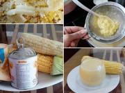 Công thức sữa ngô cho bé dễ làm của mẹ Tôm