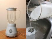 Nhà đẹp - Vệ sinh máy xay sinh tố nhanh gọn trong 30 giây