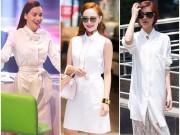 Thời trang - Sao Việt nâng tầm đẳng cấp cho sơ mi váy