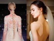 Làm đẹp - Những kiểu tóc cô dâu đơn giản, sang trọng nhất