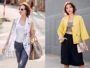 Thời trang - Thời trang hè đầy sức sống của Hoa hậu Trúc Diễm