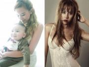 Bà bầu - 3 tháng không ăn tinh bột, DJ Myno giảm 15kg sau sinh