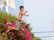 Tin tức - Nắng nóng, trẻ con Sài Gòn rủ nhau… nhảy cầu giải nhiệt