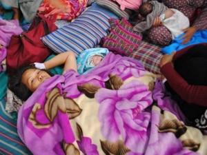 Bé gái chào đời giữa trận động đất 7,3 độ richter ở Nepal
