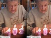 Clip Eva - Cụ bà thổi nến sinh nhật... bay cả răng