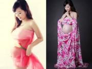 Bà bầu - Bộ ảnh đẹp mê mẩn của bà bầu 7 tháng chỉ tăng 6kg