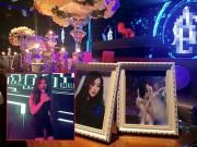 Làng sao - Hương Tràm mở tiệc mừng sinh nhật 20 tuổi trong quán bar