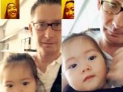 """Làng sao - Đoan Trang """"trốn"""" chồng con sang Mỹ một tháng"""