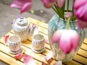 Nhà đẹp - Muôn cách cắm hoa sen đẹp ngất ngây của chị em Việt
