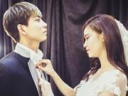 Làng sao - Bắt gặp Trương Quỳnh Anh - Tim đi thử đồ cưới