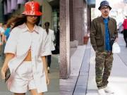 Thời trang - Hé lộ kiểu mũ đàn ông lẫn phụ nữ đều thích đội hè này