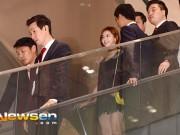 Làng sao - Vị hôn thê của Bae Yong Jun lần đầu lộ diện