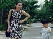 Làng sao - Hà Hồ khoe chân dài miên man dạo phố cùng Subeo