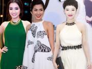 Thời trang - Sao Việt khéo tôn vai trần với đầm cổ yếm