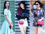 Thời trang - Túi xách xinh xắn vừa nhìn vừa thèm của sao Việt