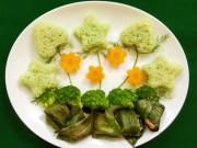Bếp Eva - Cơm gà lá dứa ngon mê cho bé yêu