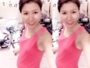 Làng sao - Trang Trần tươi tắn khoe bụng bầu 3 tháng