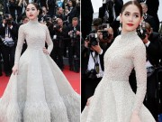 Chompoo Araya xinh tươi tại Cannes hậu kết hôn