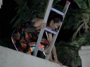 """Làng sao - Kim Hiền: """"Tôi bị động thai khi đóng cảnh leo trèo"""""""