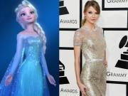 Thời trang - Taylor Swift được so sánh với nữ hoàng băng giá Elsa