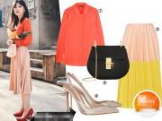 Thời trang - Nữ công sở tháng 5 tôn eo thon nhờ váy xếp pli