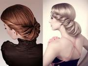 Làm đẹp - Sở hữu tóc búi kiểu Pháp siêu nhanh sau 1 phút