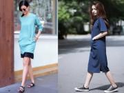 Thời trang - Chị em Hà Nội sành mặc tìm váy đẹp, trốn nắng hè