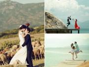 Eva Yêu - Ảnh cưới ấn tượng với đàn cừu của cặp đôi Việt – Hàn