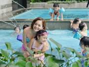 Làm mẹ - 8 bể bơi lý tưởng ở Hà Nội cho trẻ em đi bơi ngày hè