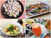Bếp Eva - Bữa ăn chiều thứ 7 thanh mát