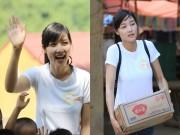 Triệu Thị Hà tặng thư viện sách cho học sinh nghèo miền núi
