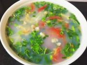 Bếp Eva - Canh hến nấu chua đầy hấp dẫn