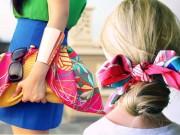 Thời trang - 4 tác dụng tuyệt vời của khăn lụa ngày hè