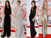 Thời trang - Dàn mỹ nhân đẹp lộng lẫy tại lễ trao giải thời trang