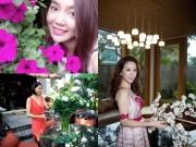 Nhà đẹp - Người đẹp Việt đọ sắc cùng hoa