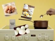Bếp Eva - Mẹo bóc trứng siêu đơn giản chẳng ai ngờ