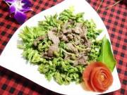 Bếp Eva - Thiên lý xào thịt bò ăn no căng bụng
