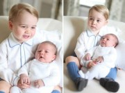Ngày mới - Lộ ảnh cực đáng yêu của tiểu công chúa, hoàng tử Anh