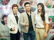 Làng sao - Trương Thế Vinh và bạn gái chúc mừng Hồ Việt Trung