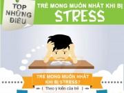 Infographic: Cách xử lí khi trẻ bị căng thẳng