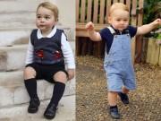 Thời trang - Hoàng tử bé nước Anh kế thừa thời trang truyền thống