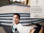 Nhật Nam nhận thư Tổng thống Obama, lọt top ACT cao nhất Mỹ
