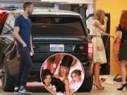 Taylor Swift và bạn trai vui vẻ tiệc tùng bên bạn bè