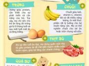 8 thực phẩm làm trẻ tăng cân nhanh chóng
