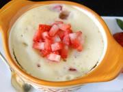 Bếp Eva - Chỉ 2 phút nướng bánh dâu tây bằng lò vi sóng