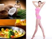 Làm đẹp - 5 loại dầu ăn có lợi cho việc giảm cân