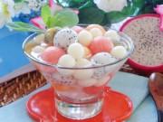 Bếp Eva - Chè bi trái cây mát lạnh thanh niệt
