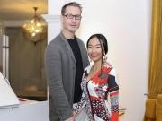 Làng sao - Đoan Trang khoe váy 20 triệu đồng do chồng tặng